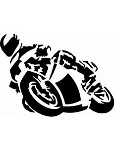 "NALEPKA ""MOTORIST"""