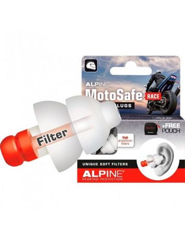 ČEPKI ZA UŠESA ALPINE MOTOSAFE RACE